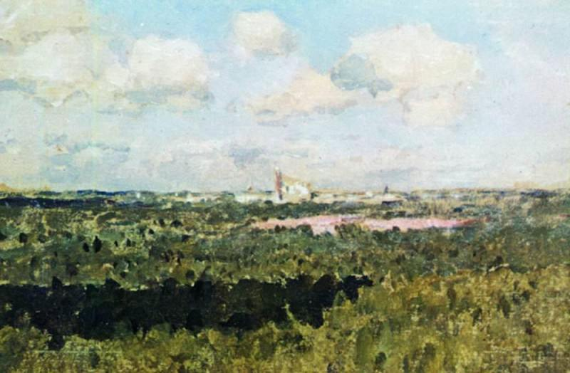 View on the Novodevichy Convent. 1898-1899. Isaac Ilyich Levitan
