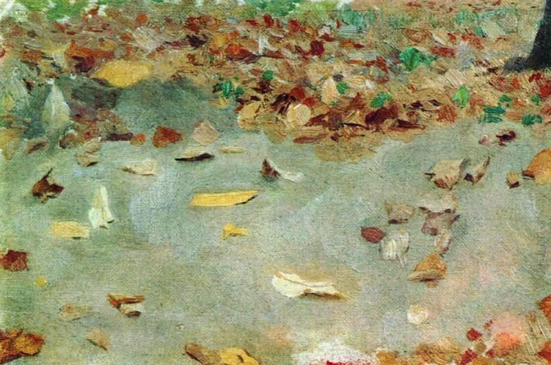 Autumn leaves. 1879. Isaac Ilyich Levitan