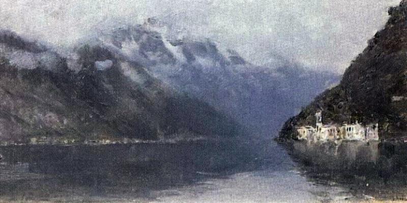 Lake Como 2. 1894. Isaac Ilyich Levitan