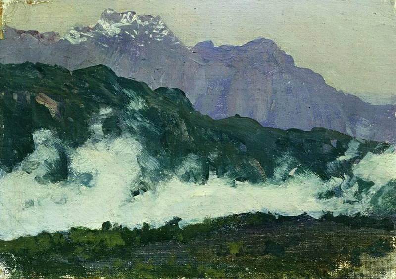 Alps. 1897. Isaac Ilyich Levitan