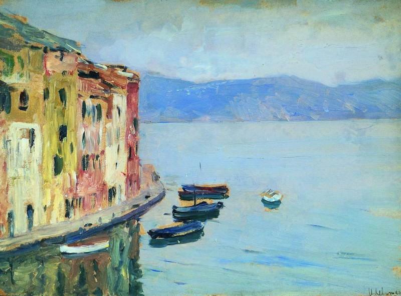 Lake Como 4. 1894. Isaac Ilyich Levitan