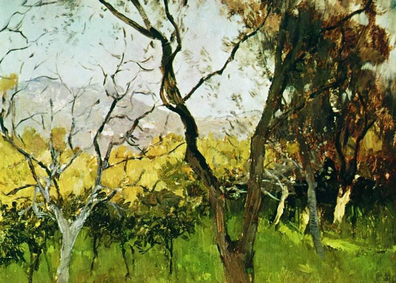 Spring in Crimea 1. 1900. Isaac Ilyich Levitan