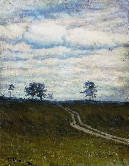 darkly. 1899. Isaac Ilyich Levitan