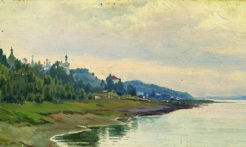 Pool. 1889. Isaac Ilyich Levitan