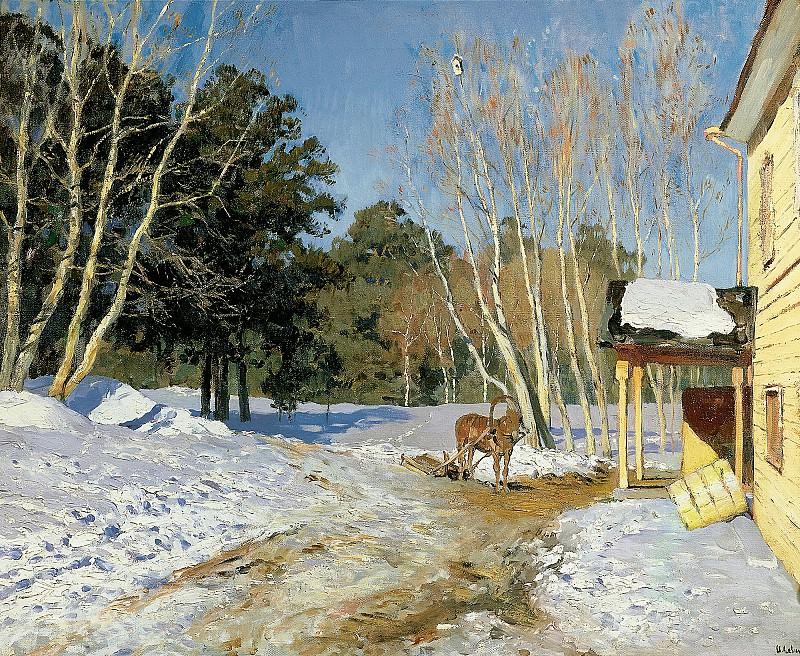 Mart (March). 1895. Isaac Ilyich Levitan