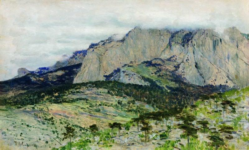 Ai-Petri. 1886. Isaac Ilyich Levitan
