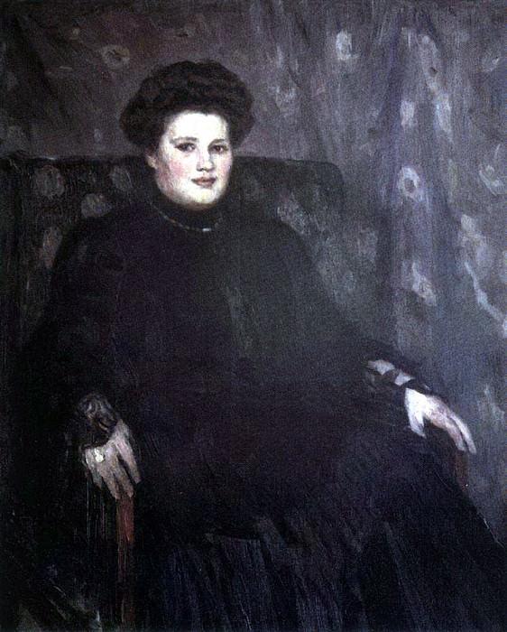 Portrait of Alexander Tretyakov. 1910. Vasily Ivanovich Surikov