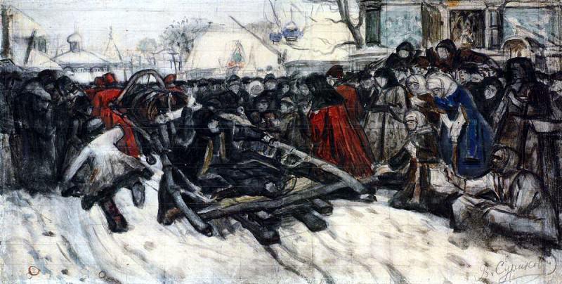 Боярыня Морозова. 1884-1885. Василий Иванович Суриков