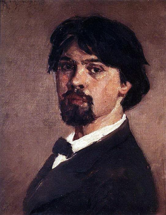 Self-portrait. 1879. Vasily Ivanovich Surikov