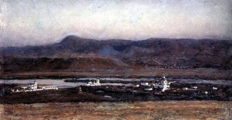 Старый Красноярск. 1914. Василий Иванович Суриков