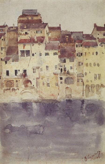 Venice. Vasily Ivanovich Surikov