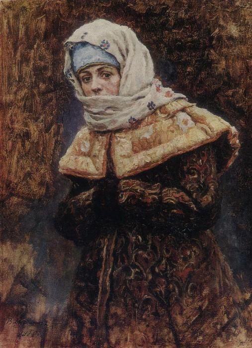 young ladies. 1886. Vasily Ivanovich Surikov