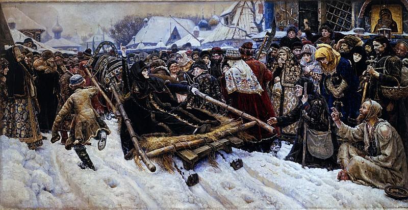 Боярыня Морозова. 1887. Василий Иванович Суриков
