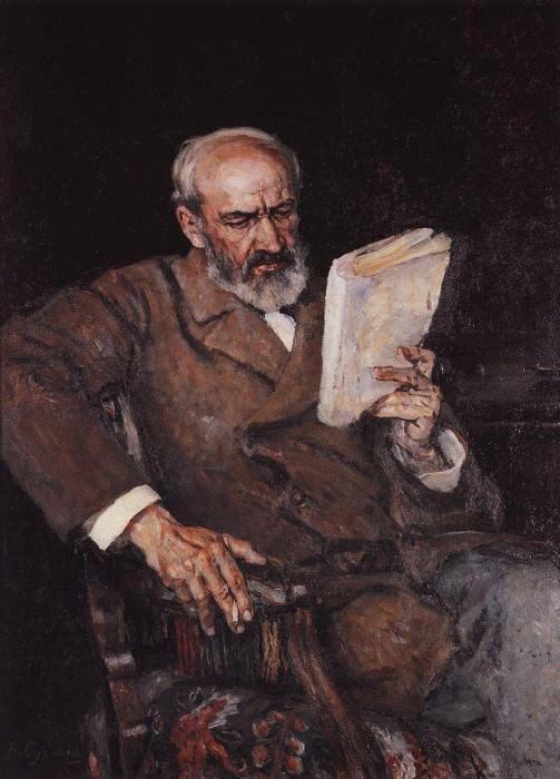 Портрет доктора А. Д. Езерского. 1910. Василий Иванович Суриков