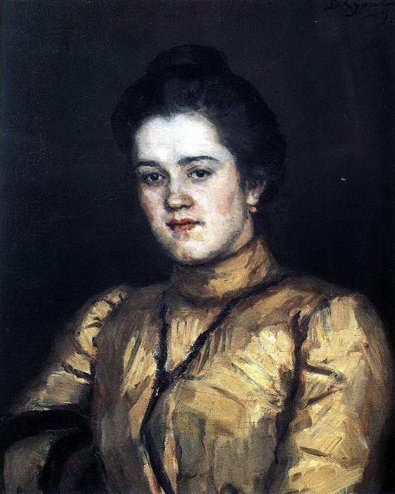 Портрет А. И. Емельяновой. 1903. Василий Иванович Суриков