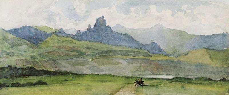 Минусинская степь. 1873. Василий Иванович Суриков