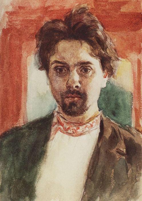 Автопортрет. 1883-1884. Василий Иванович Суриков