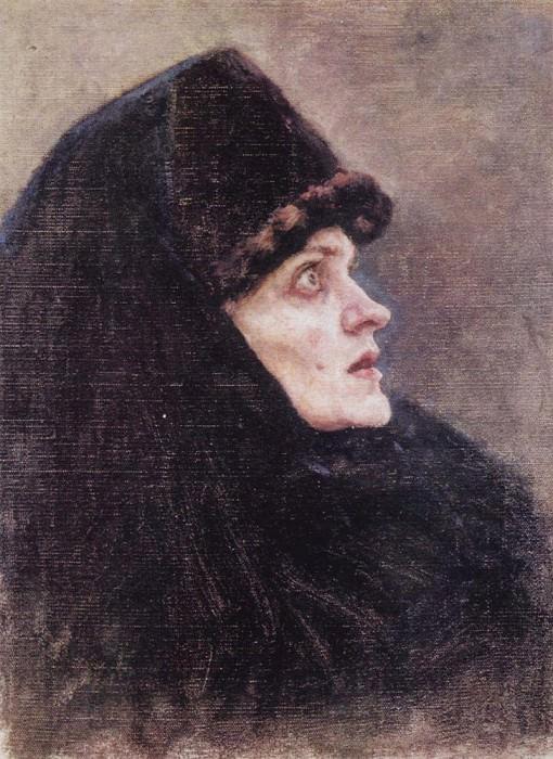 Head boyarynya Morozovoy2. 1886. Vasily Ivanovich Surikov