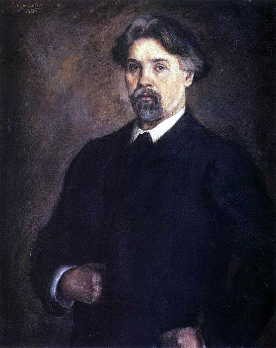 Автопортрет. 1915. Василий Иванович Суриков
