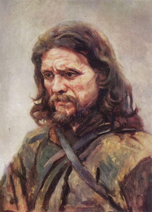 Странник. 1885. Василий Иванович Суриков