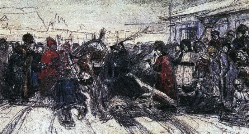 Боярыня Морозова 2. 1881-1884. Василий Иванович Суриков
