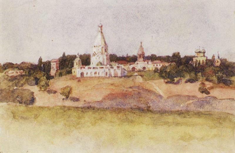 Kolomna. 1910. Vasily Ivanovich Surikov