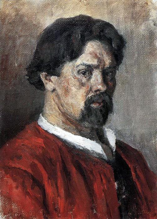 Автопортрет. 1902. Василий Иванович Суриков