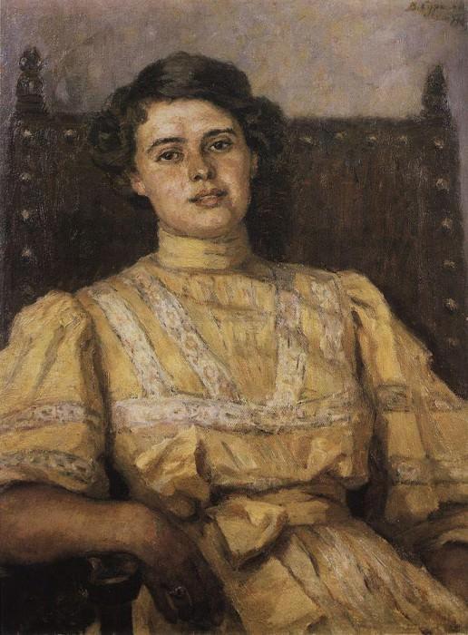 Портрет Е. Н. Сабашниковой. 1907. Василий Иванович Суриков