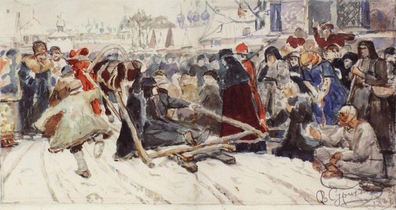 Boyarynya Morozov. 1885. Vasily Ivanovich Surikov