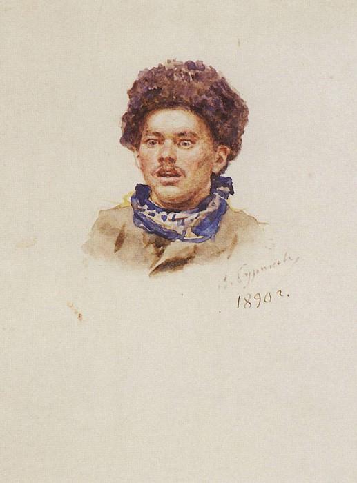 Александр Николаевич Пестунов. 1890. Василий Иванович Суриков