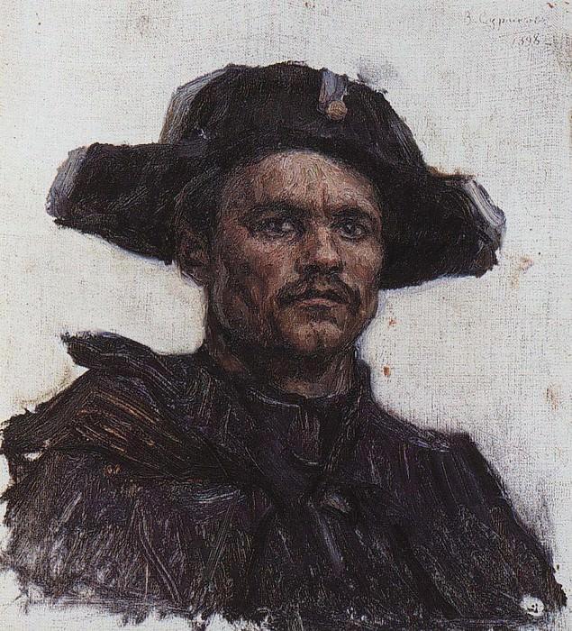Голова солдата- барабанщика. 1898. Василий Иванович Суриков
