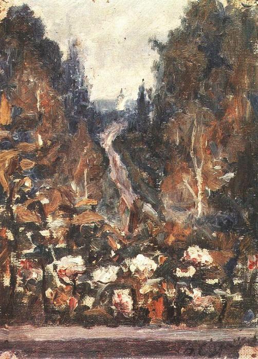Road to Hotkovo. 1884. Vasily Ivanovich Surikov