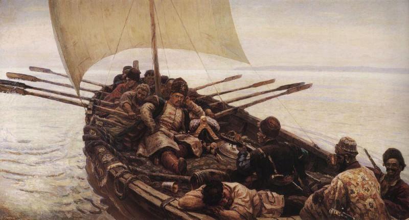 Степан Разин. 1906. Василий Иванович Суриков