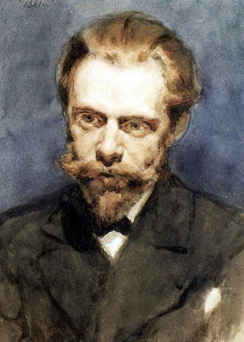 Портрет Н. С. Матвеева. 1881. Василий Иванович Суриков