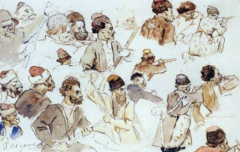Cossacks. Vasily Ivanovich Surikov