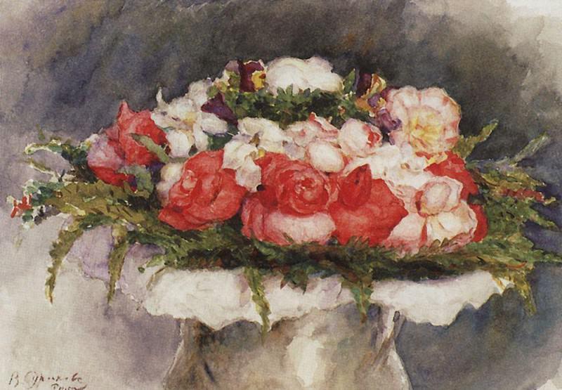 Bouquet. 1884. Vasily Ivanovich Surikov