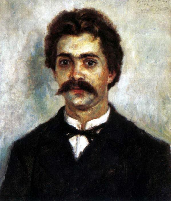 Портрет А. И. Сурикова. 1887-1890. Василий Иванович Суриков