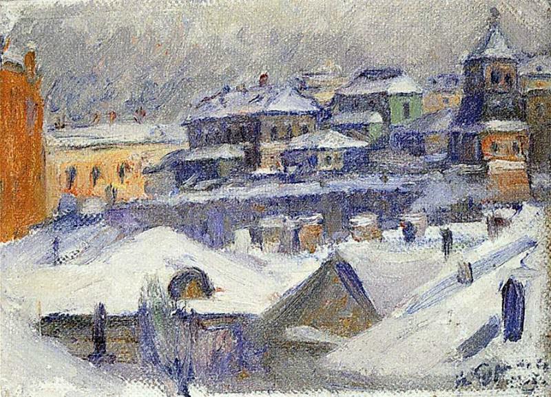 Вид Москвы. 1908. Василий Иванович Суриков