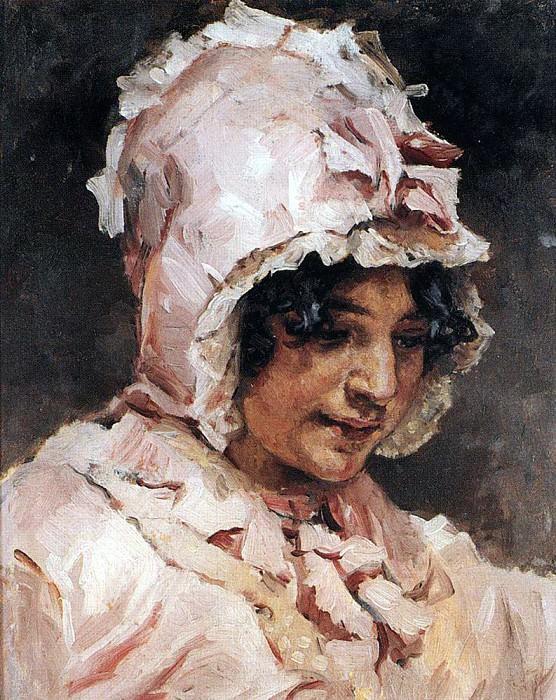 Italiana. 1884. Vasily Ivanovich Surikov