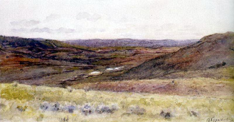 Окрестности Красноярска. 1890-1914. Василий Иванович Суриков