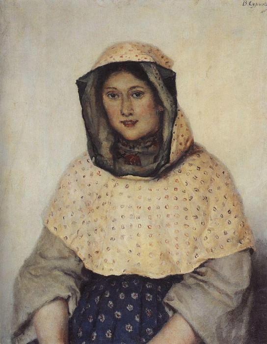 Портрет Т. К. Доможиловой. 1891. Василий Иванович Суриков
