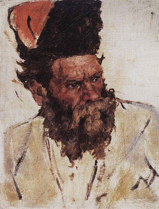Don Cossack Rzhidin. Vasily Ivanovich Surikov