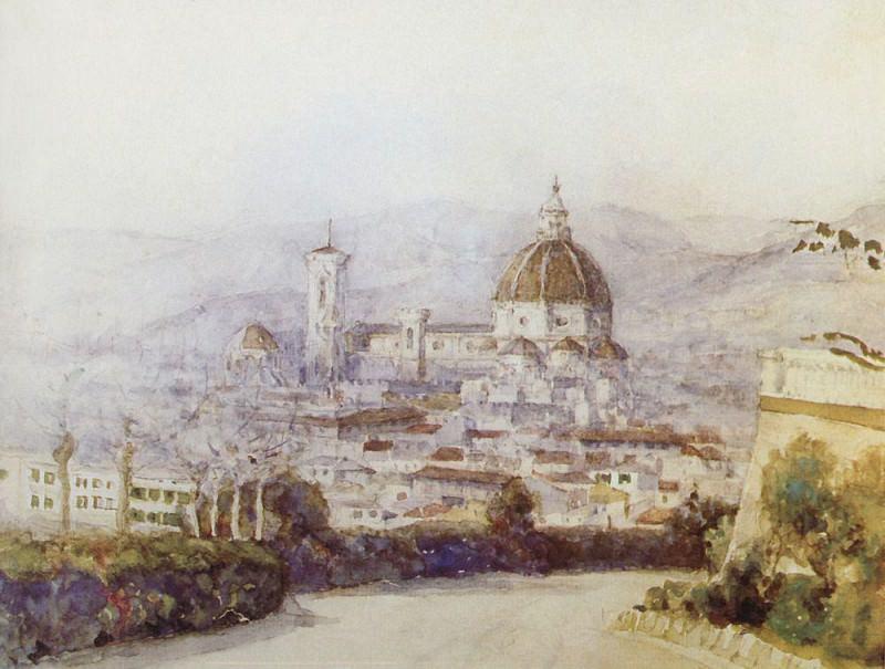Флоренция. 1884. Василий Иванович Суриков