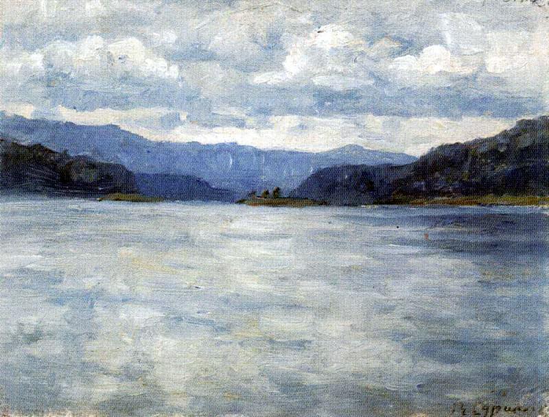 Yenisei. Vasily Ivanovich Surikov