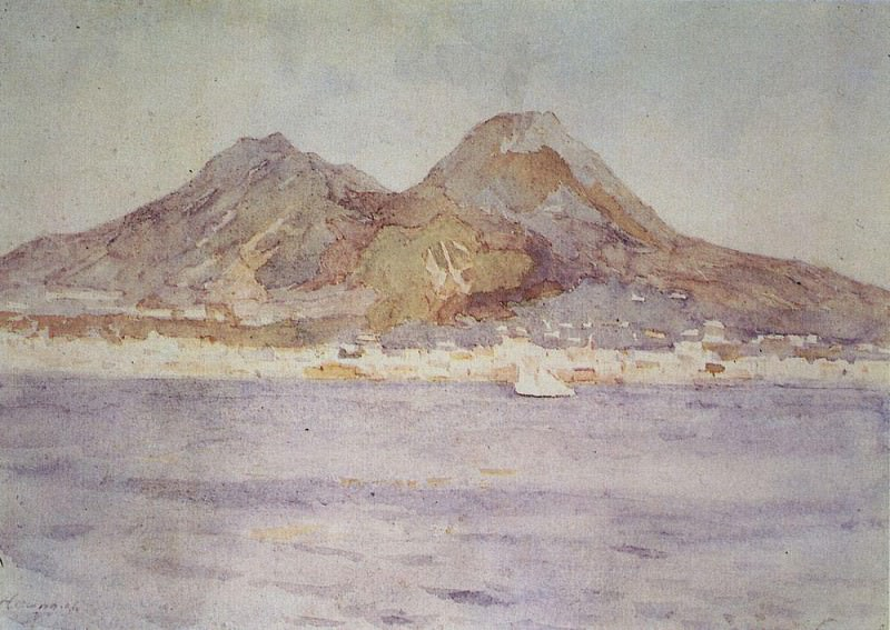 Неаполь. 1884. Василий Иванович Суриков