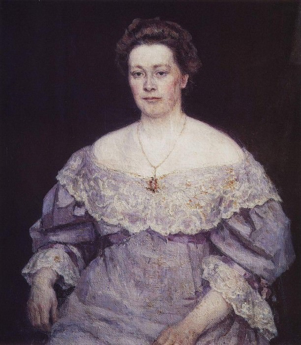 Portrait of Alexander P. Jurgenson. 1908. Vasily Ivanovich Surikov
