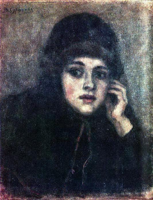 Голова монахини. Василий Иванович Суриков