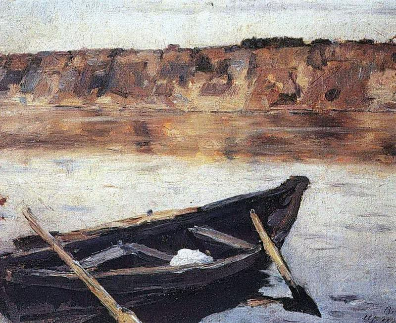 Irtysh. 1892. Vasily Ivanovich Surikov