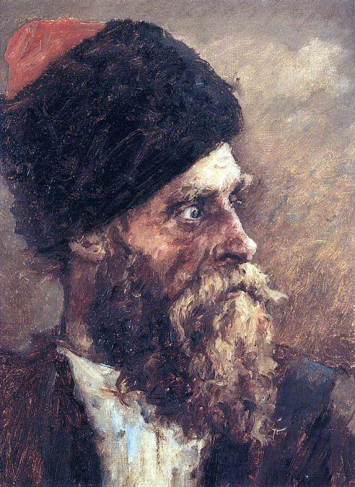 Казак Дмитрий Сокол. 1893. Василий Иванович Суриков