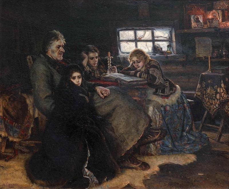 Menshikov in Berezovo. Vasily Ivanovich Surikov